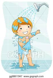 take a shower clipart. Unique Take Stock Illustration  A Young Boy Taking A Shower Clipart Illustrations  Gg56811947 And Take Shower O