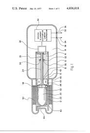 self starting free piston stirling engine us 4036018 a patent drawing
