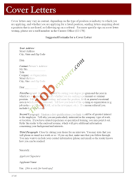 Cover Cover Letter For A Resume Template