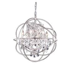 enchanting bedroom with small crystal chandelier luxury bedroom decoration with round silver metal and crystal
