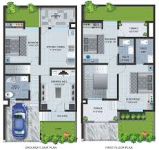 rowhouse floor plan home improvements modern row house plans interesting ideas designs story alluring bungalow tiny style simple contemporary lake terrace