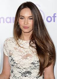 megan fox long smooth layers hair looks megan fox hair color megan fox