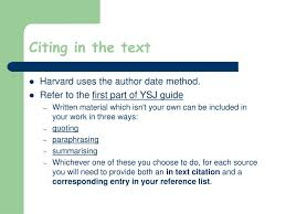 Ppt Harvard Referencing Powerpoint Presentation Id4200932