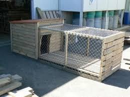 wooden dog kennel plans dog houses