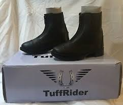 Tuffrider Childrens Starter Front Zip Paddock Riding Boots