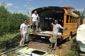 tiny house school bus. Bus Life 5 Tiny House School