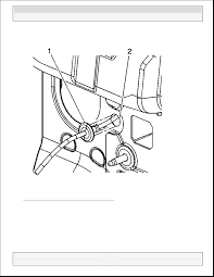 Fig 3 view of hood latch cable routing courtesy of general motors corp