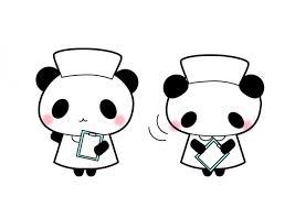 パンダ看護師イラスト素材 無料イラスト素材素材ラボ