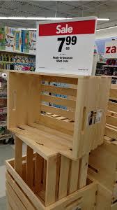 crate shelf diy