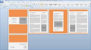 Microsoft Word Presentation Template Ms Word Images Presentation Template Readingrat Org