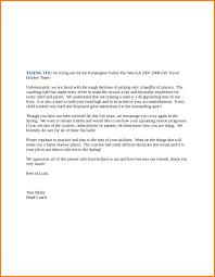 10 Candidate Rejection Letter Sample Legal Resumed