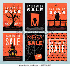 halloween sale flyer halloween sale background stock images royalty free images