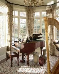 BaywindowtreatmentsDiningRoomTraditionalwithbluewalls - Bay window in dining room