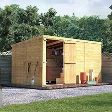 get your 4 x 3 waltons overlap apex wooden garden shed from clifford james great value made in the uk