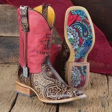 Tin Haul Paisley Rocks Boots