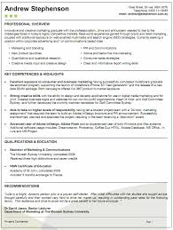 Good Resume Examples Australia Examples Of Resumes