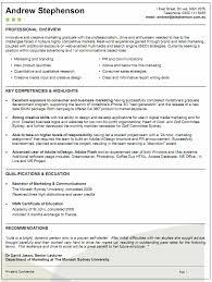 Example Resume Australia Examples Of Resumes