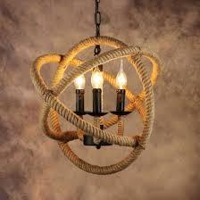 china rope globe vintage pendant lights