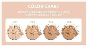 Coty Airspun Powder Color Chart Eglips Blur Face Powder Pact 9g 4 Colors 2 Pcs Makeup Skin Care K Beauty