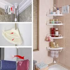 shower caddy accessory rack holder corner shelf organizer storage bathroom tool