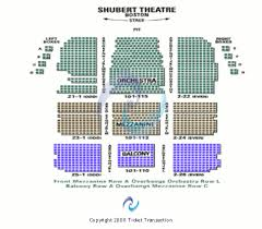 Citi Shubert Theater Seating Chart Shubert Theatre Ma Tickets Shubert Theatre Ma Seating Chart