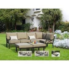 outdoor sectional furniture 7 outdoor sectional sofa set metal backyard garden patio furniture 5 outdoor sectional