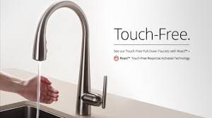Pfister Kitchen Faucets Pfister React Touch Free Faucet Pfister Faucets Kitchen Bath