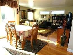 area rug under dining room table carpet kitchen with rugs designs 6