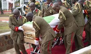 The cause of pierre nkurunziza's death was described as a heart attack in a government statement. Burundi Holds State Funeral For Late President Pierre Nkurunziza Global Times