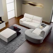 Wonderful Cheap Modern Furniture Wooden Floor White Sofa Design