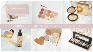 new in beauty purchases summer beauty essentials from make up geek gerard cosmetics abh glow kit gwa iconic london becca cosmetics highter benefit