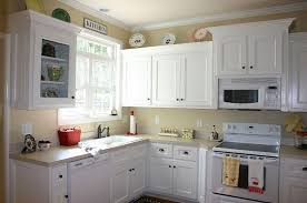 kitchen paintingTop Painting Old Kitchen Cabinets White Painted Upper Black Lower