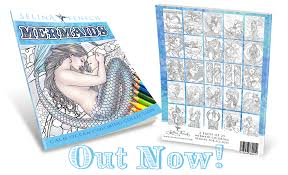 Small Picture Coloring is for all ages Mermaid Designs out now Selina Fenech