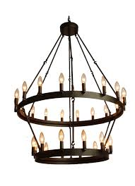 this rustic style 30 light chandelier will add the perfect touch to any room including an 18 inch chain this elegant piece requires thirty 40 watt e26