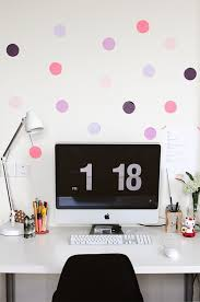 room decor diy ideas. Dotted Wall   DIY Room Decor Ideas For Crafters (Who Are Also Renters) Diy