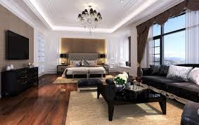 Living Room And Bedroom Brilliant Living Room Bedroomin Inspiration To Remodel House With