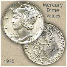 1930 Dime Value Discover Your Mercury Head Dime Worth