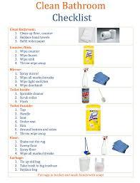 clean bathroom checklist for kids – maintaining motherhood