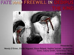 fate and will in oedipus the king
