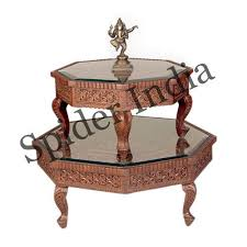 indian rosewood fine carved table