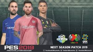 PES 2019 Next Season Patch 2019 - Released 28.01.2019 - Micano4u ...