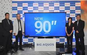 tv 90 inch. inch smart tv · sharp introduces 90 cl aquos to indonesia world topics global
