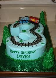 Homemade Thomas The Train Birthday Cake Classic Style Cool