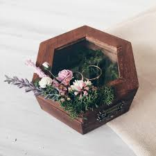 archaicawful wooden flower boxes for weddings rustic planter box with tray and fl foam insert wedding