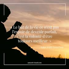 Citation Inspirante Le But De La Vie Nest Pas Lespoir De Devenir