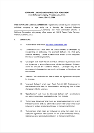 Exclusivity Agreement Template Distribution Agreement Template Exclusive Form Sample Doctor Pdf 23