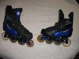 Details About Reebok 3 K Roller Hockey Blades Skates Adult Size 5 Skate 6 5 Shoe Nice Shape