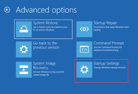 Advanced Options Windows 10 Windows 10 Advanced Options Doesnt Have Startup Settings Euask Com