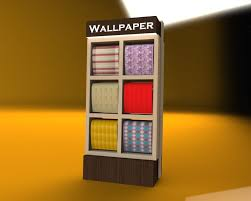 Wallpaper Display Stand Enchanting Wallpaper DISPLAY Stand 32D CAD Model Library GrabCAD