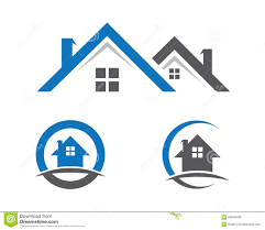 Home And Building Logo Stock Vector Illustration Of Consulting